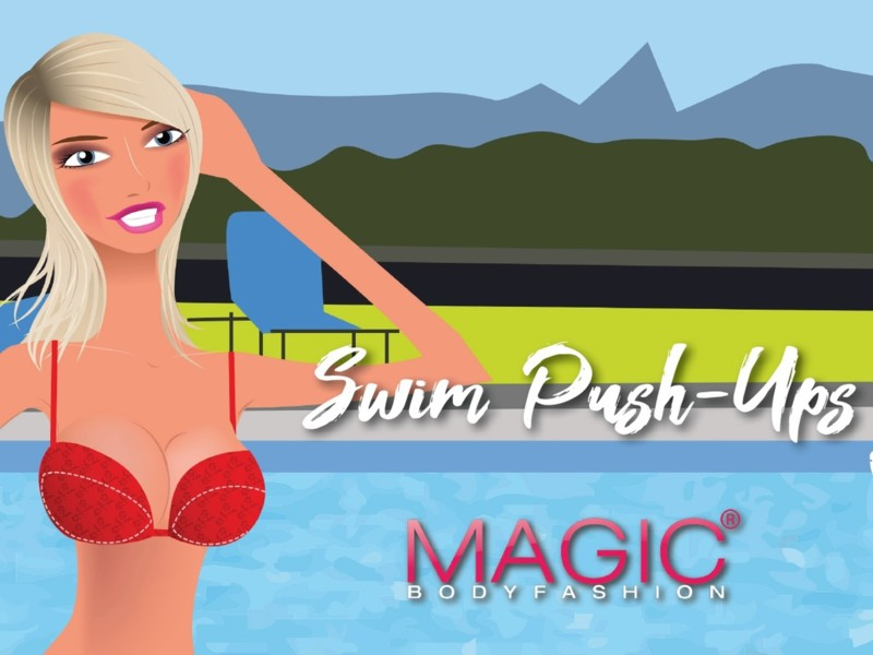 Swim Push-Ups van Magic Bodyfashion